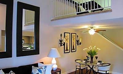 Living Room, Woodstream Townhomes, 0