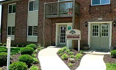 Building, Yorktowne Apartments and Townhomes, 2