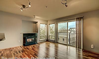 Living Room, 323 Queen Anne Ave N, 0