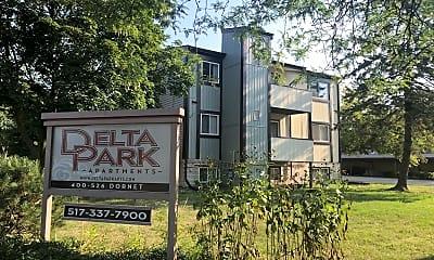 Delta Park Apartments, 1