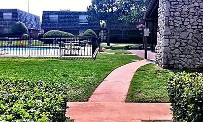 Landscaping, Coachlight Apartments, 2
