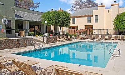 Pool, Caprock Apartment Homes, 1