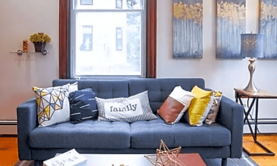 Living Room, 31 Tremont St, 1