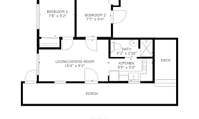 Bedroom, 8829 Midvale Ave N, 2