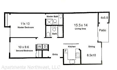 Bedroom, 8585 SW Pfaffle St, 2