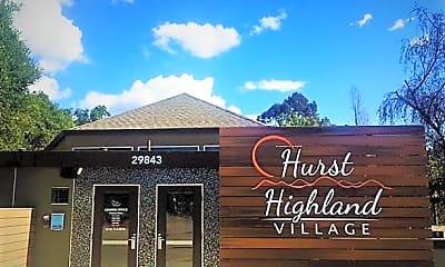 Building, Hurst Highland Village, 2