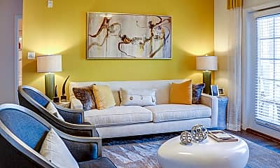 Living Room, Clairmont at Jolliff Landing, 1