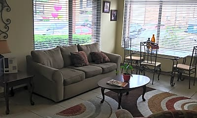 Living Room, Cottonwood, 1