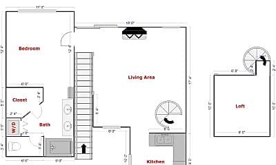 Building, 7224 Shoreline Dr, 1