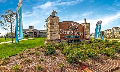 Community Signage, Stonehorse Crossing, 2
