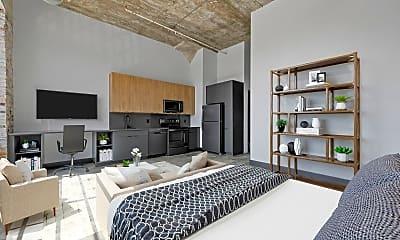 Living Room, 3000 Locust St, 2