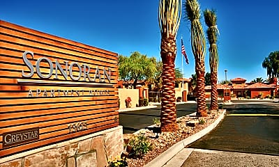 Community Signage, The Sonoran Apartment Homes, 0