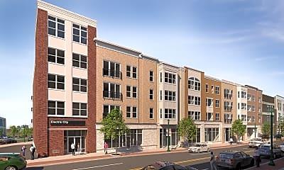 Building, Electric City Apartments, 0
