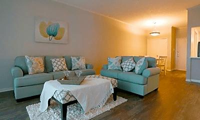 Living Room, Bay House, 1