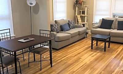 Living Room, 9 Seminary Ave 3W, 1
