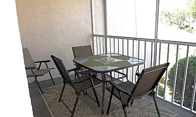 Patio / Deck, 8911 Veranda Way 222, 1