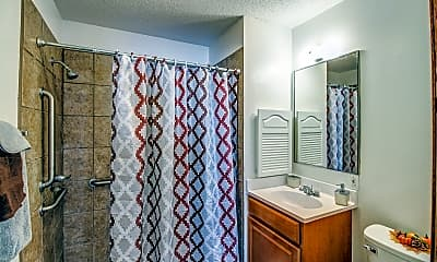 Bathroom, Indianola Park Apartments, 2