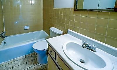 Bathroom, Maple Crest Apartments, 2
