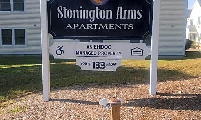 Stonington Arms, 1