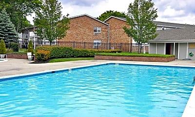 Pool, Hawthorne Court, 1