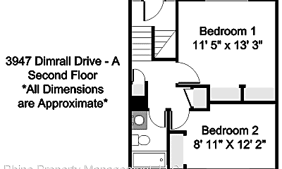 Building, 3947 Dimrall Dr, 2
