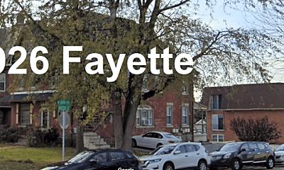 Community Signage, 926 Fayette St, 1