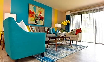 Living Room, The Terraces at Summerville, 1