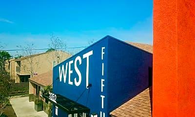 Community Signage, West Fifth, 2