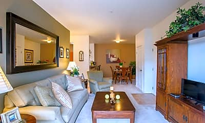 Living Room, CENTERPOINTE APARTMENTS, 1