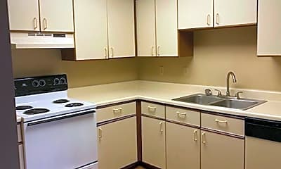 Kitchen, Lincoln School Apartments 1730 South 11th Street, 1