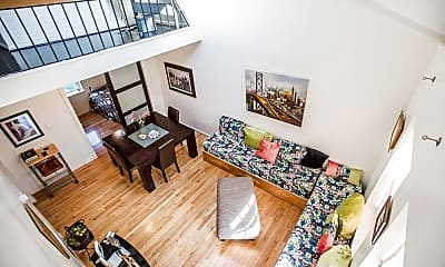 Living Room, 3520 39th St NW F660, 1