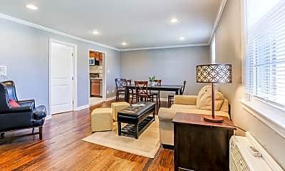 Living Room, 445 Morris Ave 8, 1