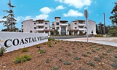 Community Signage, Coastal Village, 2