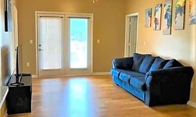 Living Room, 2200 Classen Blvd #6115, 1