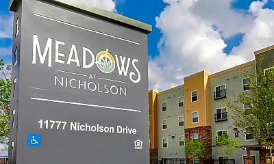 Community Signage, Meadows at Nicholson, 2