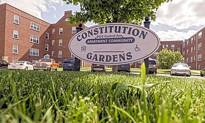 Community Signage, Constitution Gardens, 2