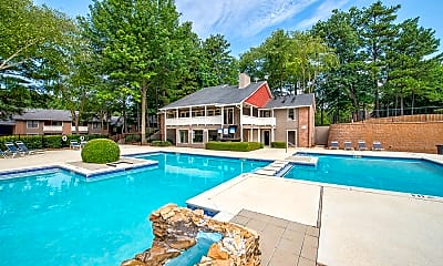 Pool, Cornerstone Apartments, 1