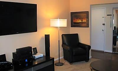 Living Room, Randolph Square Apartments, 2