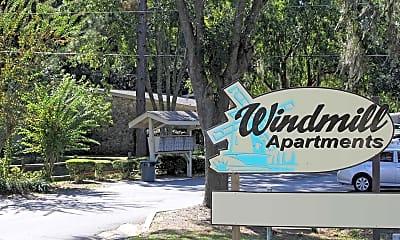 Community Signage, Windmill Apartments, 1