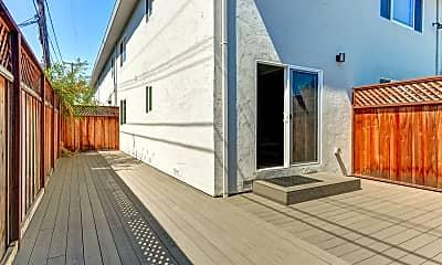 Patio / Deck, The Midfield Apartments, 2