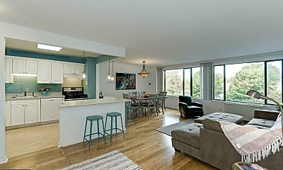 Living Room, 4501 Arlington Blvd 417, 0