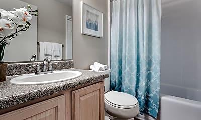 Bathroom, Midtown Crossing Apartments, 2