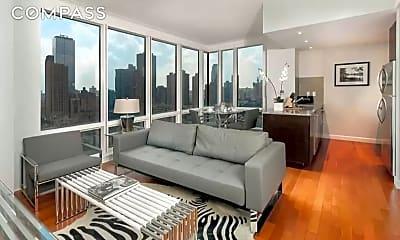 Living Room, 306 W 48th St 23-B, 0