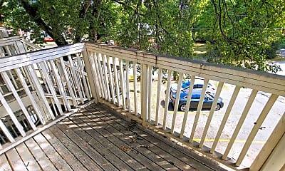 Patio / Deck, 201 S Park St, 2