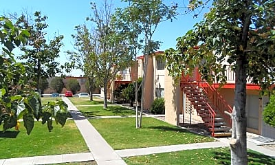 Landscaping, Colony Garden Apartments, 0