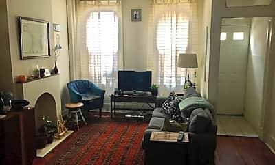 Living Room, 1827 Memphis St, 1
