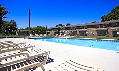 Pool, Maple Manor Apartments, 1