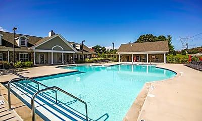 Pool, Cross Creek Villas, 1