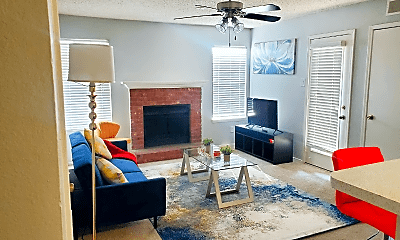 Living Room, 1803 Wimbledon Oaks Ln, 0