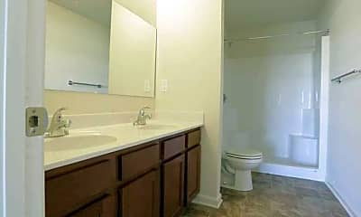 Bathroom, Progress Square Townhomes, 2